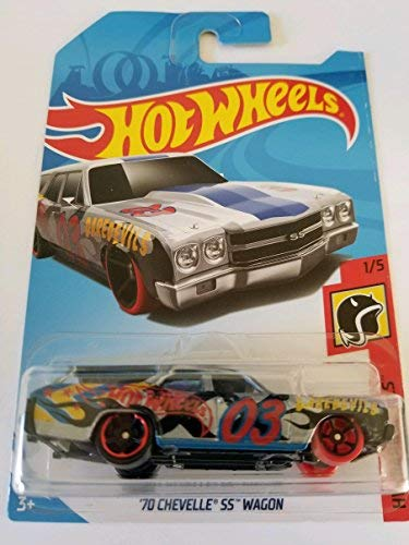 Hot Wheels 2018 50th Anniversary Daredevils '70 Chevelle SS