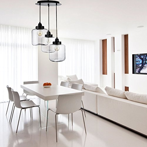 Glass Pendant Lights For Dining Room
