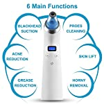 Blackhead Vacuum, Beyond [2018 Newest] Electric Blackhead Remover Pore Cleaner Acne Comedo Suction Extractor Tool Microdermabrasion Machine with 4 Probes and LCD Display