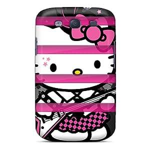 New Fashion Premium Tpu Case Cover For Galaxy S3 - I4 Punk Kitty