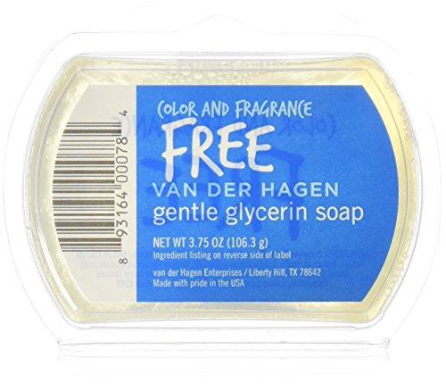 Van Der Hagen Glycerin Soap, Free, 3.75 Ounce (Van Der Hagen Glycerin)