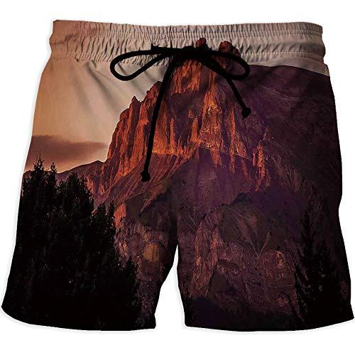 iPrint Men's Draw-String Sports Athletic Shorts, Farmhouse Decor,Athletic