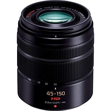 Panasonic H-FS45150K Lumix G Series Lens (Black)