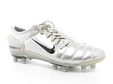 purchase cheap f1276 4b275 NIKE Zoom Air Fußball Schuhe Silber Nocken