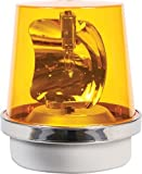 Edwards Signaling 52A-N5-40WH Rotating Halogen Beacon, 120V AC, Amber, 40W, 265 Lumens