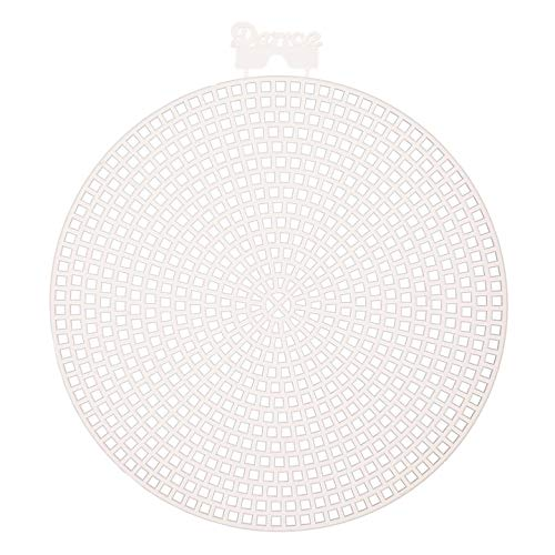 (Darice Bulk Buy DIY Plastic Canvas Shape Round 4.5 inches 10 Pieces (3-Pack) 33004)