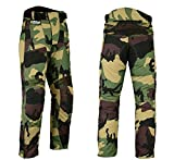 Hilbro New Mens Camo Motorbike Motorcycle Pants Armoured Waterproof Textile Trousers 34