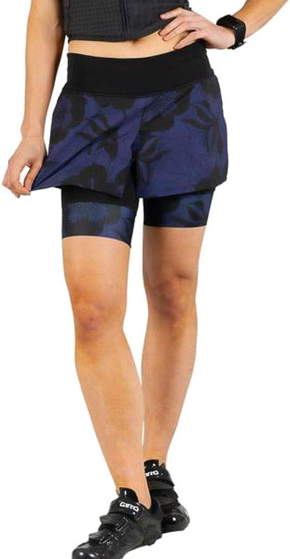 SHEBEEST Women's Fender Cycling / Biking 2-in-1 Skirt
