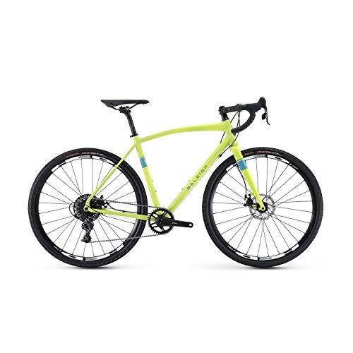 Raleigh Bikes Willard 3 Adventure Road Bike 56cm Frame, Gree
