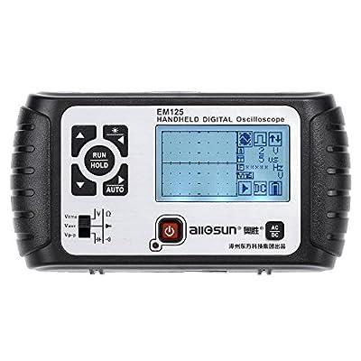 all-sun Oscilloscope Handheld Scope Digital Storage Meter and Digital Multimeter DMM 25MHz Single Channel