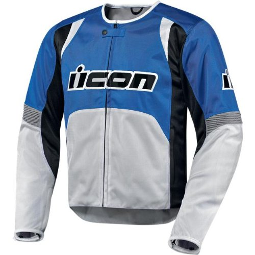 Icon Overlord Nylon Jacket , Apparel Material: Textile, Size: 3XL, Primary Color: Blue, Gender: Mens/Unisex, Distinct Name: Blue 2820-1956