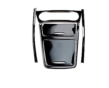Embellecedor para consola central, salpicadero y embellecedor de FFZ Parts, color negro, apto para clase A GLA CLA: Amazon.es: Coche y moto