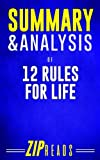 img - for Summary & Analysis of 12 Rules for Life: A Guide to the Book by Jordan Peterson book / textbook / text book