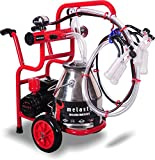 Mitty Supply Melasty Goat Milking Machine Portable Electric Two Handles. Milk 2 Goats in 6 Minutes