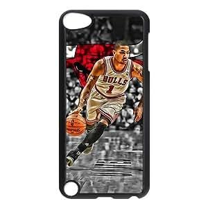 Diy Ipod Touch 5 Phone Case Derrick Rose UN843266