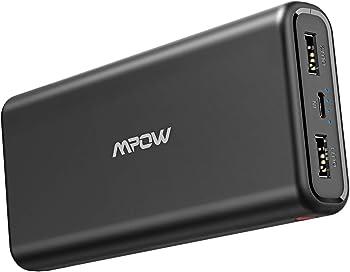 Mpow 20,000mAh Portable Power Bank