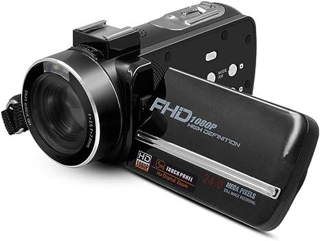Cámara Digital con Pantalla táctil, cámara Digital HD, cámara ...