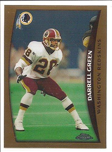 16b47ac6a Darrell Green Washington Redskins 1998 Topps Chrome Football Card  114