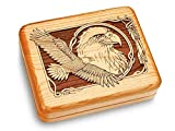 Music Box 6x5'' - Eagle Soaring - Amazing Grace