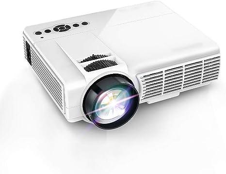 BMG Proyector LED HD, Mini Proyector Portátil Pico para El Hogar ...