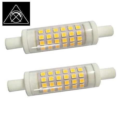 AscenLite 5W R7S Non-Dimmable, Paquete de 2, J78 Bombilla LED 220-
