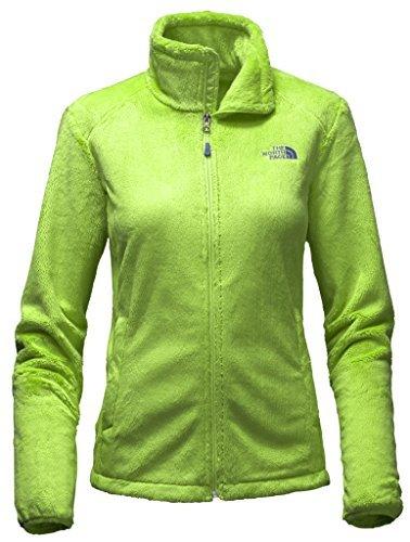 (The North Face WomenS Osito 2 Jacket Sharp Green Fleece Jacket L)