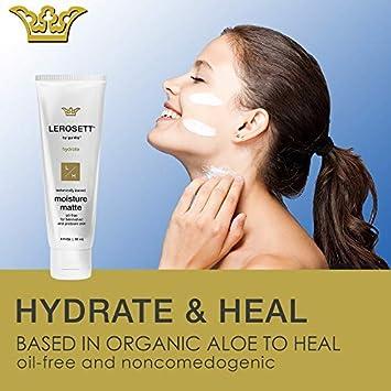 LEROSETT Botanical Acne Moisture Matte Clear Skin Moisturizer 3 oz