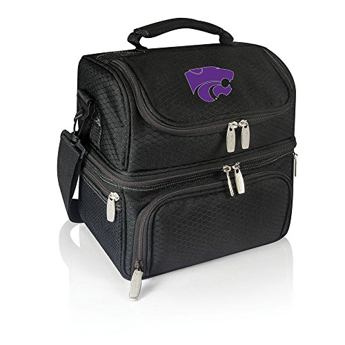 NCAA Kansas State Wildcats Pranzo Insulated Lunch Tote, Black
