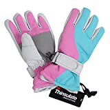 #6: Lullaby Kids Thinsulate Lining Winter Kids Windproof Waterproof Snow Ski Gloves