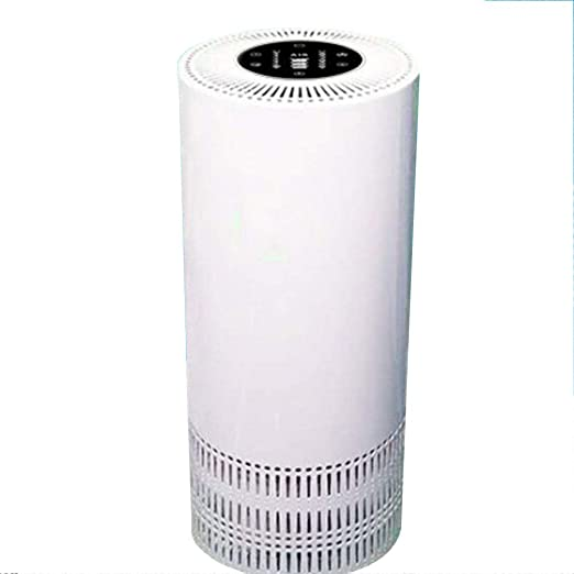 G&F Purificador De Aire, Negative Ion Freshener,Compacto Filtro De Aire con Luz Noctura,Bloqueo para Niños,Táctil con LED Pantalla, Auto-Apaga Inteligente, para Casa, Dormitorio, Oficina (Blanco): Amazon.es: Hogar