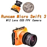 Runcam FPV Camera Micro swift 3 2.1mm Lens 1/3 SONY Super HAD II CCD 600TVL NTSC For RC Racing Drone Quadcopter