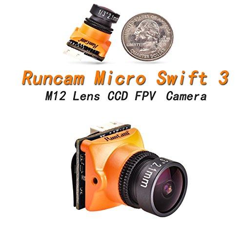 Runcam FPV Camera Micro swift 3 2.1mm Lens 1/3