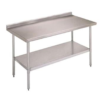 Amazon.com: John Boos E Series mesa de trabajo de acero ...
