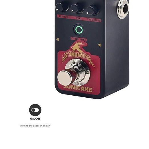Amazon.com: SONICAKE SANDMAN - Pedal digital para efectos de ...