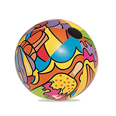 Bestway 31044E Beach Ball Pool Float, Multicolor: Toys & Games
