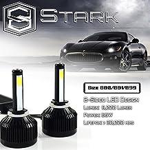 66W All-in-One LED Headlights - Cool White 6000K 6K - Fog Light Bulbs - Super White - 8,000 Lm / 880 / 881 / 899 / 893