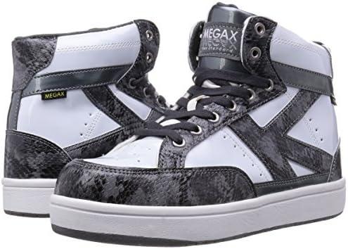 安全靴 作業靴 メガセーフティ エナメルトップ ハイカットタイプ MG-5600 メンズ