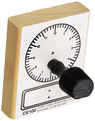Center Enterprises Inc. Digital Clock Stamp