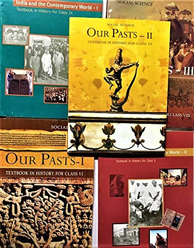 AMAXING NCERT BOOK STORE History Book Set Class-6 To Class-10 (Set Of 5 book) For Upsc/IAS Civil service exam MRP 435 PLUS SHIPPING Paperback – 1 January 2019