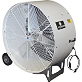 Schaefer Versa-Kool Mobile Drum Fan - 36in., 11,000 CFM, 1/2 HP, 115 Volt, Model# VKM36-O