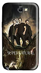 Supernatural vs Doctor Who PC Hard new case for galaxy note 2