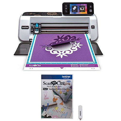 Brother ScanNCut2 Home and Hobby Cutting Machine + Applique Pattern