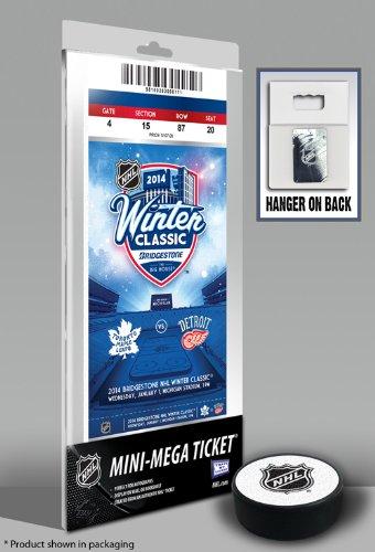 2014 NHL Winter Classic Mini-Mega Ticket - Maple Leafs vs Red Wings ()