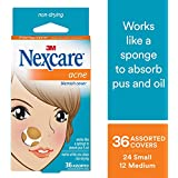 Nexcare Acne Cover, Helps Blemishes Clear, Transparent, 36 Count