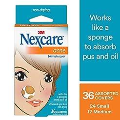 Nexcare Acne Cover, Hydrocolloid Technol...