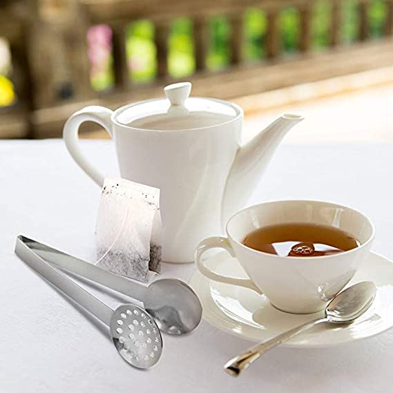 Amazon.com: Longay New Stainless Teabag Tongs Tea Squeezer Holder Herb Grip Home Kitchen Useful: Kitchen & Dining