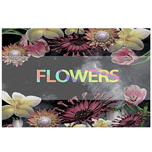 YOKOU Floral Decor Aquarium Background Sticker Wallpaper 20.4