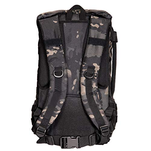 Tactical Baby Gear Daypack 3.0 Tactical Diaper Bag Backpack and Changing Mat (Black Camo) by Tactical Baby Gear (Image #4)