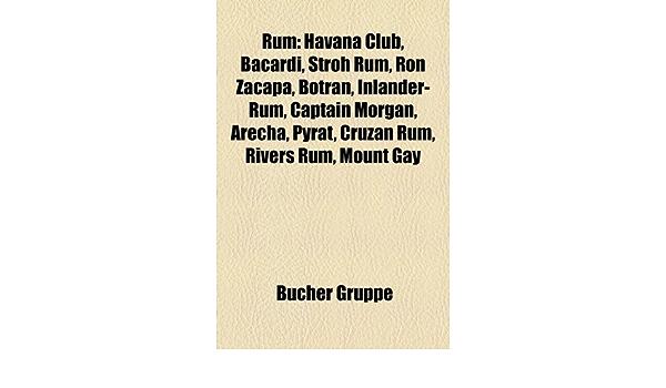 Rum: Havana Club, Bacardi, Stroh Rum, Ro: Amazon.es: Gruppe ...