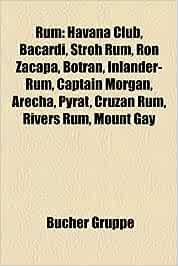 Rum: Havana Club, Bacardi, Stroh Rum, Ron Zacapa, Botran ...